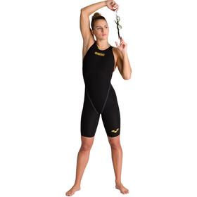 arena Powerskin Carbon Core FX Full Body Short Leg Open Back Badeanzug Damen black/gold